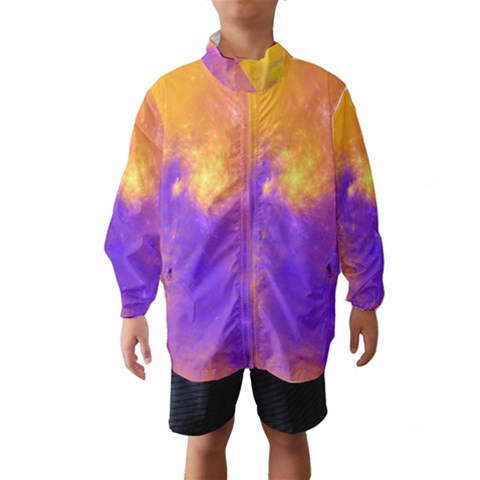 Colorful Universe Wind Breaker (Kids)