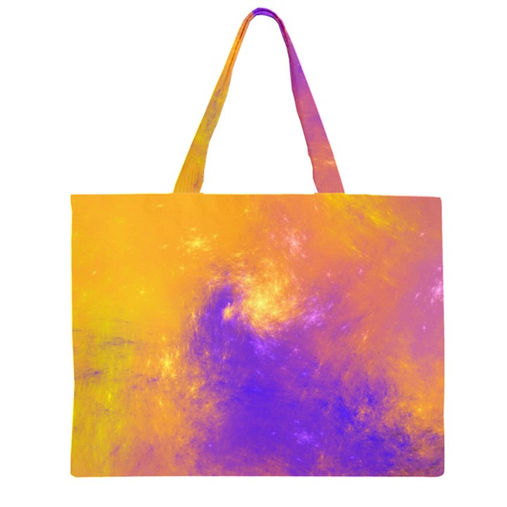 Colorful Universe Large Tote Bag