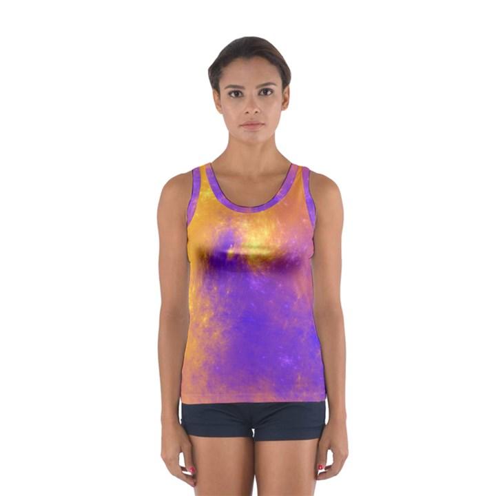 Colorful Universe Women s Sport Tank Top