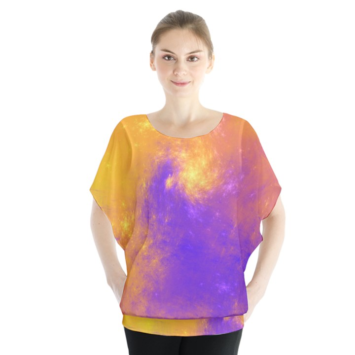 Colorful Universe Blouse