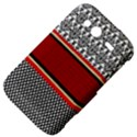Background Damask Red Black HTC Wildfire S A510e Hardshell Case View4
