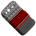 Background Damask Red Black HTC Wildfire S A510e Hardshell Case View5