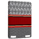Background Damask Red Black Kindle Touch 3G View2