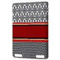 Background Damask Red Black Kindle Touch 3G View3