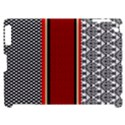Background Damask Red Black Apple iPad 2 Hardshell Case (Compatible with Smart Cover) View1