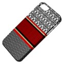 Background Damask Red Black Apple iPhone 5 Classic Hardshell Case View4