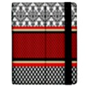Background Damask Red Black Apple iPad Mini Flip Case View2