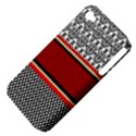 Background Damask Red Black Apple iPhone 4/4S Hardshell Case (PC+Silicone) View4