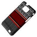 Background Damask Red Black Samsung Galaxy S II i9100 Hardshell Case (PC+Silicone) View4