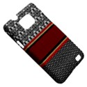 Background Damask Red Black Samsung Galaxy S II i9100 Hardshell Case (PC+Silicone) View5