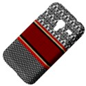 Background Damask Red Black Samsung Galaxy Ace Plus S7500 Hardshell Case View4