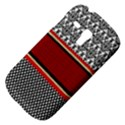Background Damask Red Black Samsung Galaxy S3 MINI I8190 Hardshell Case View4