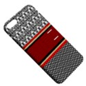Background Damask Red Black Apple iPhone 5 Hardshell Case with Stand View5