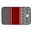Background Damask Red Black Samsung Galaxy Tab 3 (7 ) P3200 Hardshell Case  View1