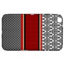 Background Damask Red Black Samsung Galaxy Tab 3 (8 ) T3100 Hardshell Case  View1