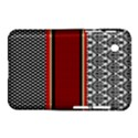 Background Damask Red Black Samsung Galaxy Tab 2 (7 ) P3100 Hardshell Case  View1