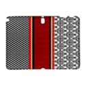 Background Damask Red Black Samsung Galaxy Note 10.1 (P600) Hardshell Case View1