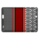 Background Damask Red Black Amazon Kindle Fire HD (2013) Hardshell Case View1