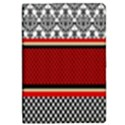 Background Damask Red Black iPad Mini 2 Flip Cases View1