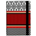 Background Damask Red Black iPad Mini 2 Flip Cases View2
