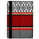Background Damask Red Black iPad Mini 2 Flip Cases View4