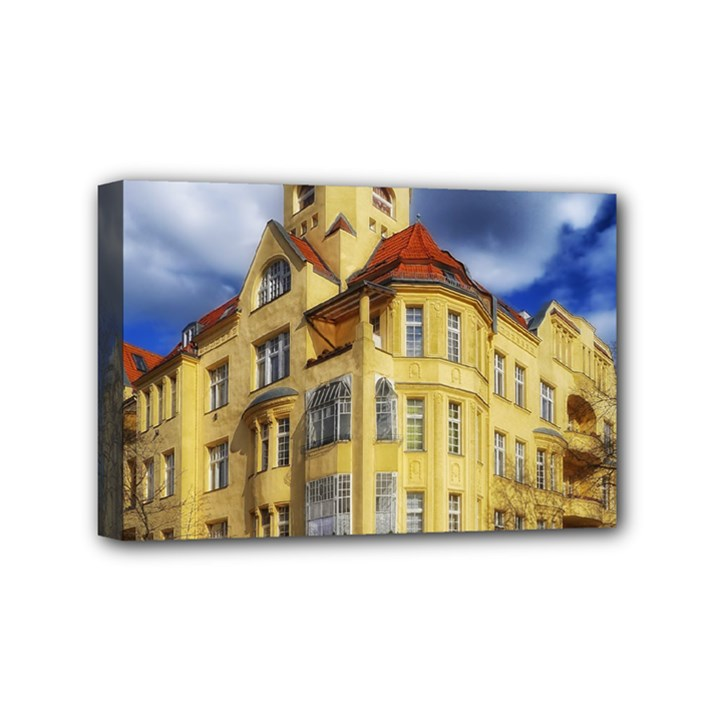 Berlin Friednau Germany Building Mini Canvas 6  x 4