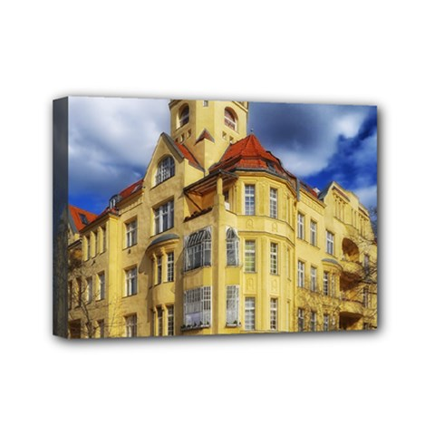 Berlin Friednau Germany Building Mini Canvas 7  x 5