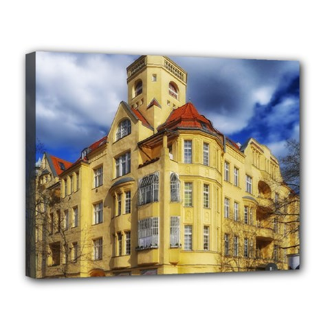 Berlin Friednau Germany Building Canvas 14  x 11