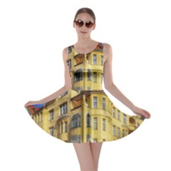 Berlin Friednau Germany Building Skater Dress