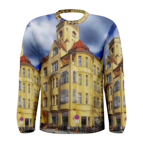 Berlin Friednau Germany Building Men s Long Sleeve Tee
