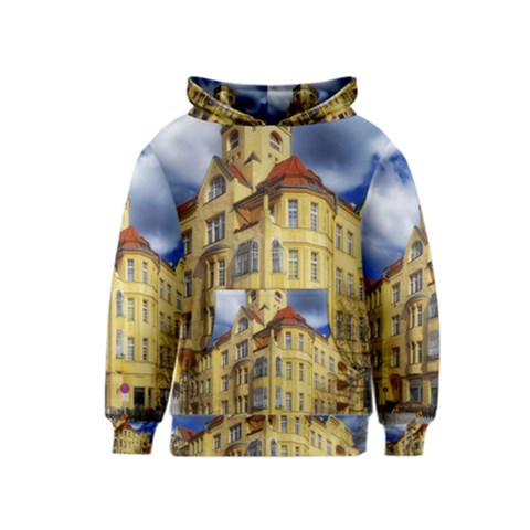 Berlin Friednau Germany Building Kids  Pullover Hoodie