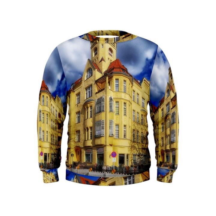 Berlin Friednau Germany Building Kids  Sweatshirt