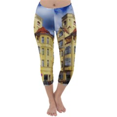 Berlin Friednau Germany Building Capri Winter Leggings