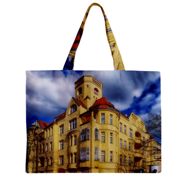 Berlin Friednau Germany Building Zipper Mini Tote Bag