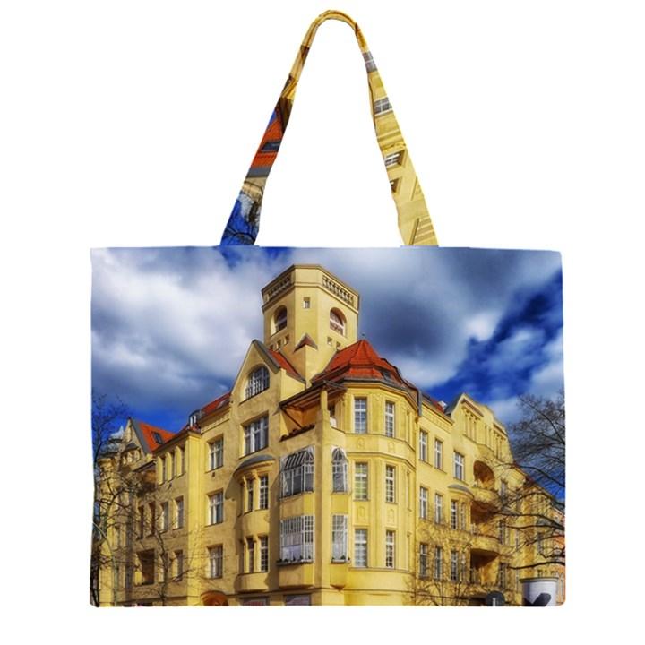 Berlin Friednau Germany Building Large Tote Bag