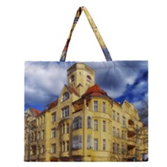 Berlin Friednau Germany Building Zipper Large Tote Bag