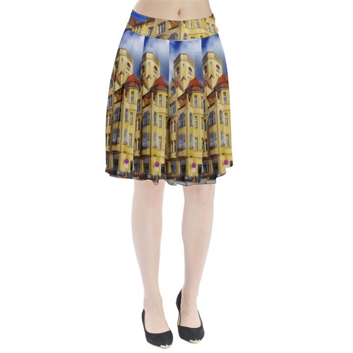 Berlin Friednau Germany Building Pleated Skirt
