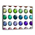 Button Icon About Colorful Shiny Canvas 16  x 12  View1