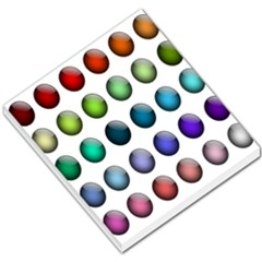 Button Icon About Colorful Shiny Small Memo Pads