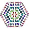 Button Icon About Colorful Shiny Mini Folding Umbrellas View1