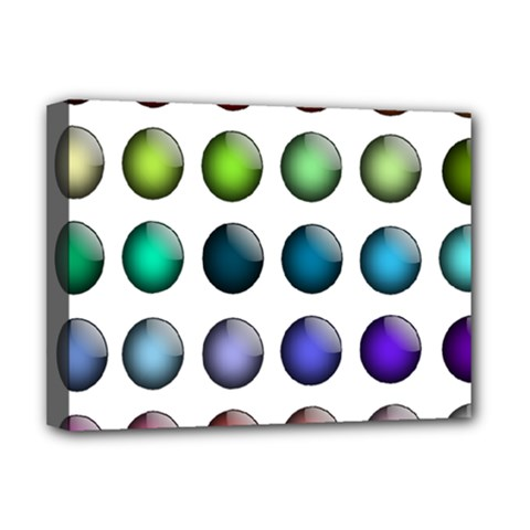 Button Icon About Colorful Shiny Deluxe Canvas 16  x 12