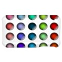 Button Icon About Colorful Shiny Apple iPhone 3G/3GS Hardshell Case View1