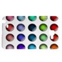 Button Icon About Colorful Shiny Samsung Galaxy Note 1 Hardshell Case View1