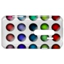 Button Icon About Colorful Shiny HTC Evo 3D Hardshell Case  View1