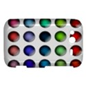 Button Icon About Colorful Shiny HTC Wildfire S A510e Hardshell Case View1