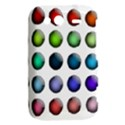 Button Icon About Colorful Shiny HTC Wildfire S A510e Hardshell Case View2