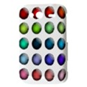 Button Icon About Colorful Shiny HTC Wildfire S A510e Hardshell Case View3
