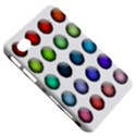 Button Icon About Colorful Shiny Samsung Galaxy Tab 7  P1000 Hardshell Case  View5