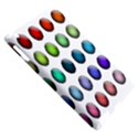 Button Icon About Colorful Shiny Apple iPad 3/4 Hardshell Case (Compatible with Smart Cover) View5