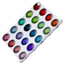Button Icon About Colorful Shiny Apple iPad Mini Hardshell Case View4